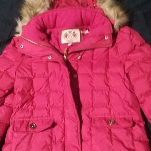 Juicy Couture Down Feather Jacket